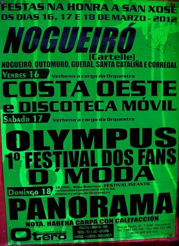 Cartelle 2012 - Festas de San Xosé en Nogueiró - cartel