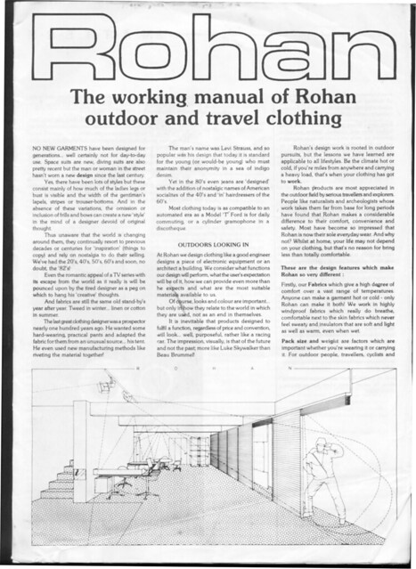 Rohan Workshop Manual