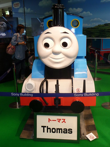 THOMAS & FRIENDS in GINZA@ソニービル 1F