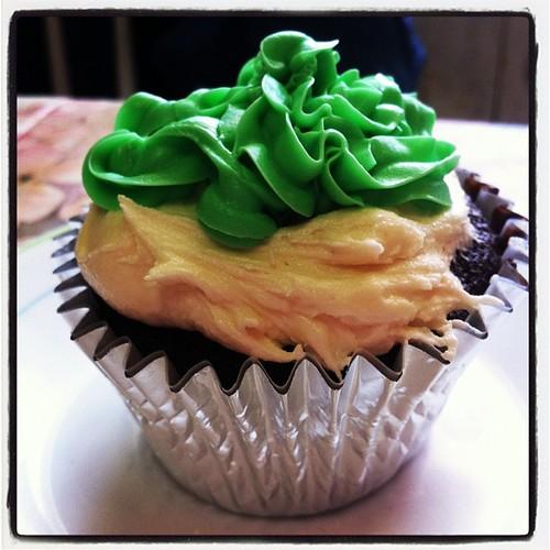 Irish Cupcake
