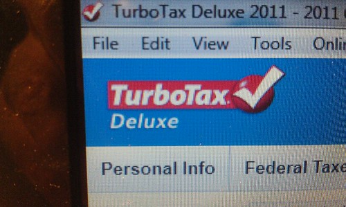 March 10, 2012: Taxes are done