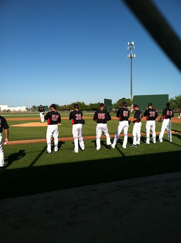 A gaggle of pitchers