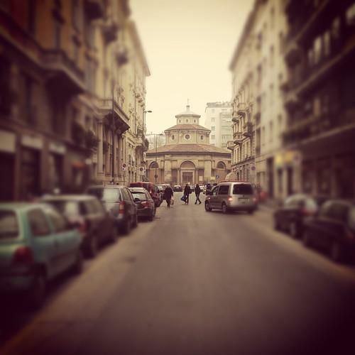 Via Lecco, San Carlo al Lazzaretto