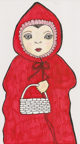 Little Red Riding Hood by northwoodsluna