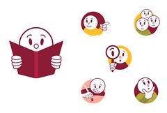 Ícones para livros didáticos