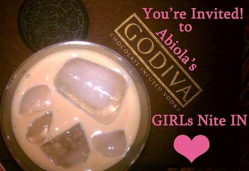 Godiva Party Invitation
