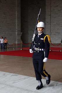 Image of National Chiang Kai-shek Memorial Hall near Taipei. taipei kx