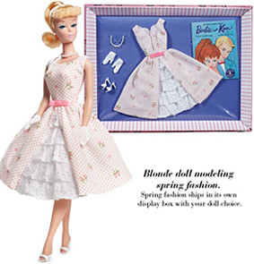 let's play barbie spring fashion
