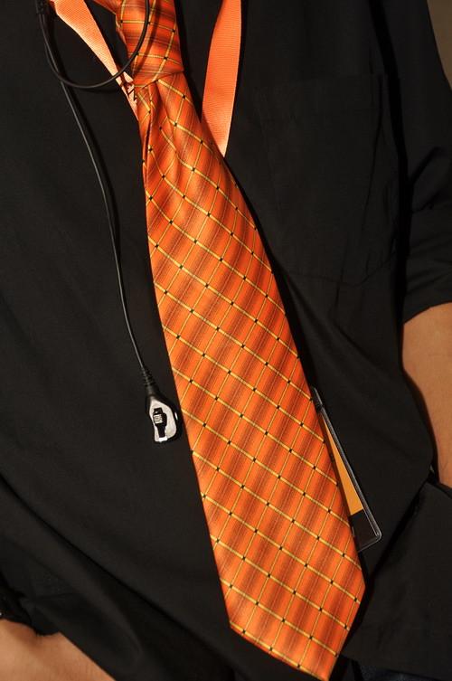 Orange Retro Funk 8