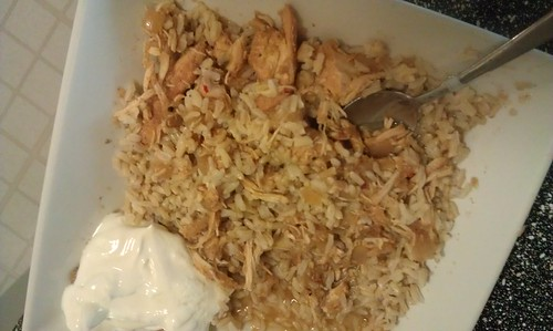 CrockPot Applesauce Chicken