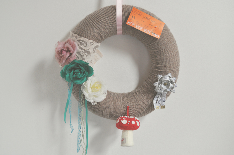 pin board wreath 1