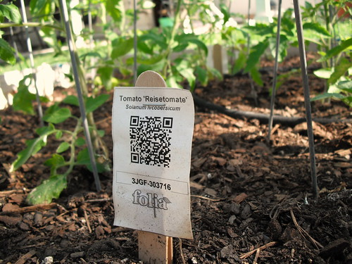 Waterproof QR Labels by jenniferworthen