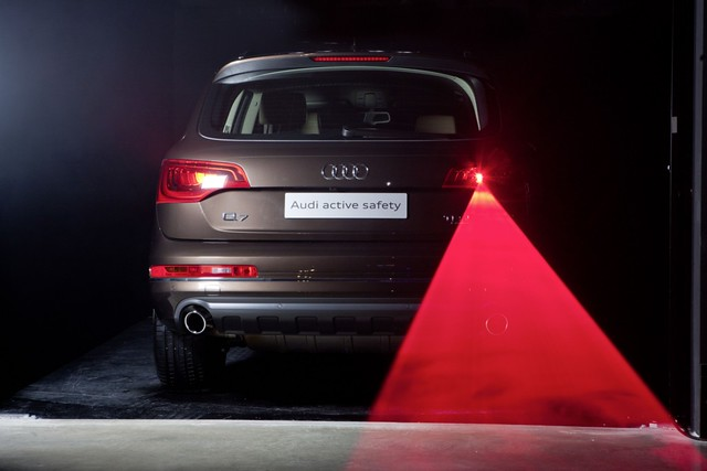 Audi iluminación láser