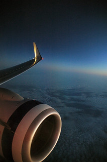 Red Eye Flight from Darwin, Northern Territory to Brisbane Queensland