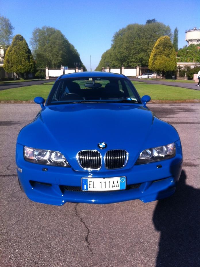 2002 M Coupe | Laguna Seca Blue | Laguna Seca Blue/Black