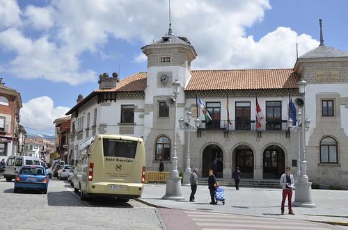 El transporte municipal entra en servicio desde el día 7 de octubre de 2013. Foto Pedro Merino