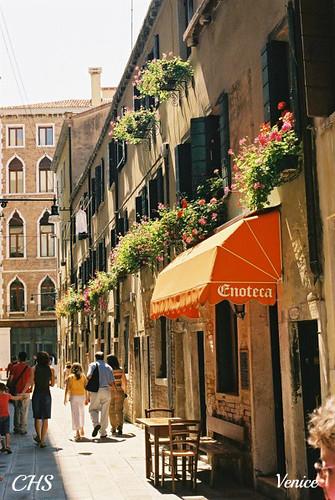 Street scene, Venice 35mm (2004) by Stocker Images