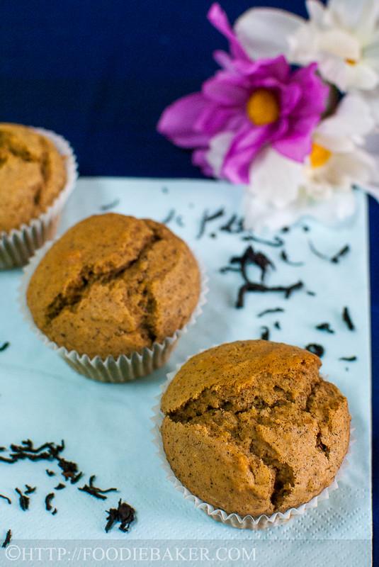 Black Tea-Lemon Cornmeal Cake