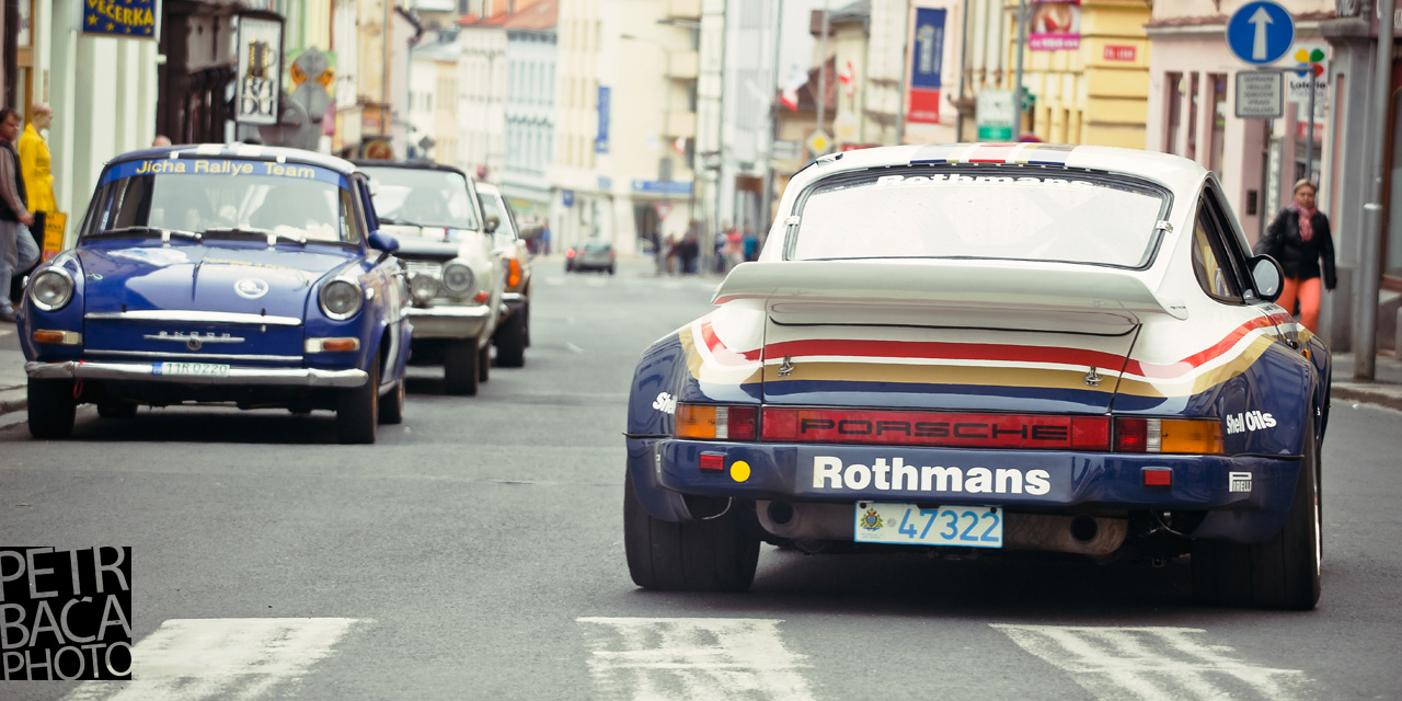 Historic Vltava Rally, Porsche 911 Carrera