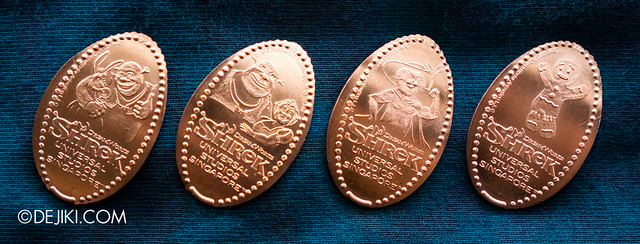 Universal Studios Singapore Press A Penny collection - Shrek