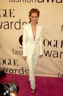 Jennifer Love Hewitt White Trousers Celebrity Style Women's Fashion