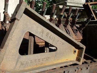 Westinghouse Brake & Saxby Signal Co. Ltd. mini power lever frame.