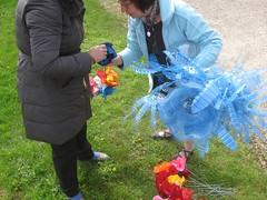 Atelier de Doudeauville, fleurs bleues