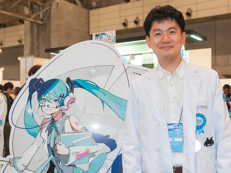 Nikoniko Gakkai beta! : Mr.Eto