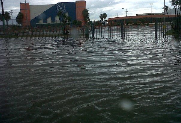 Inundaciones en Matamoros