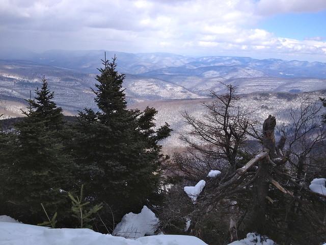 Slide Mountain Winter Hike