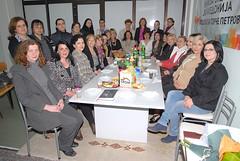 Кликни за фотогалерија - Прва меѓуопштинска средба на Форумите на жени на ГРОМ