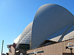 The shells of the Opera House