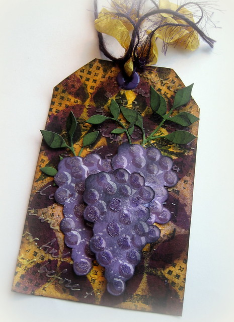 Wine Tag - Designs By Dawn Rene