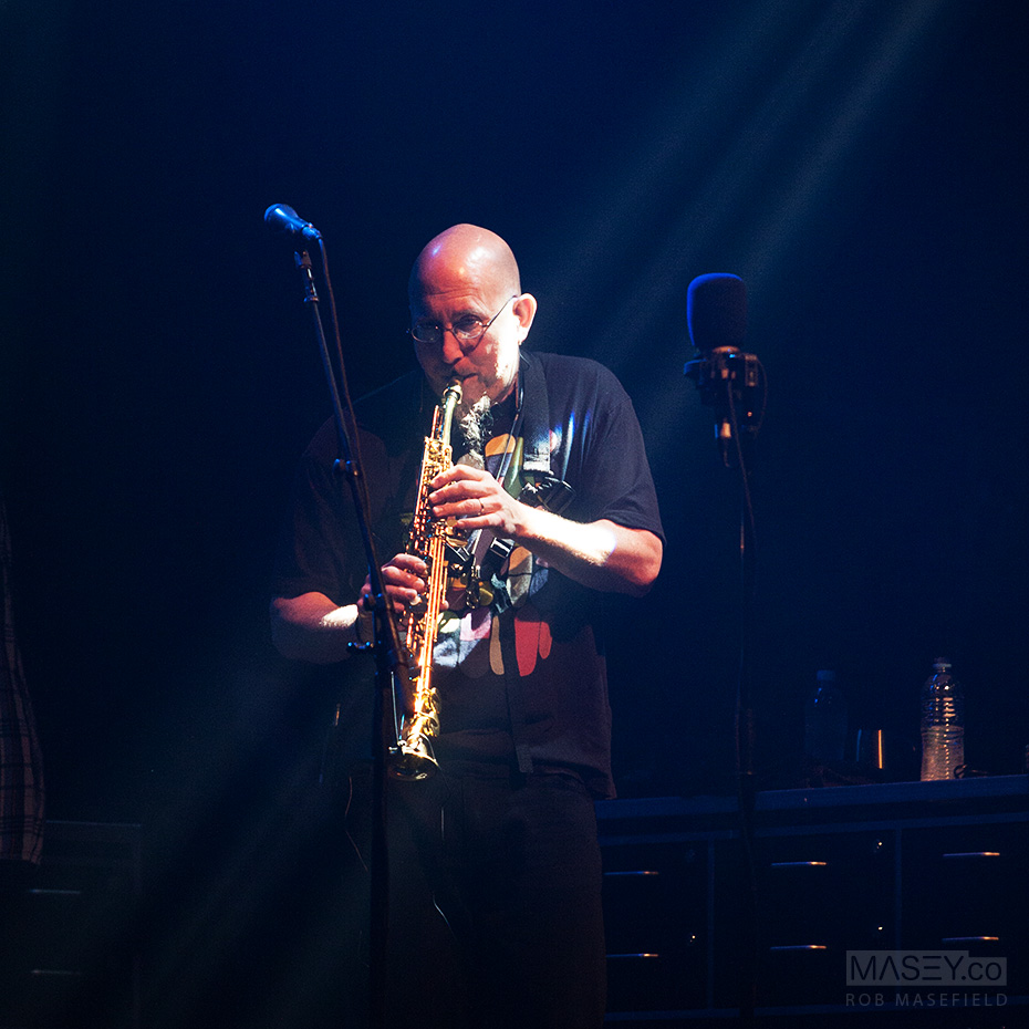 Legendary saxophonist, Jeff Coffin.