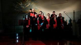 mamme per sempre Il primo concerto, nella Parrocchia di  Santa Cecilia a Bari