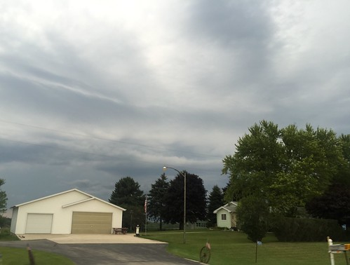 20150814 Interesting Clouds and Sky; Fond du Lac County, Wisconsin - 13