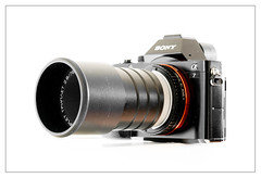 Triplet 78/2.8 projection lens