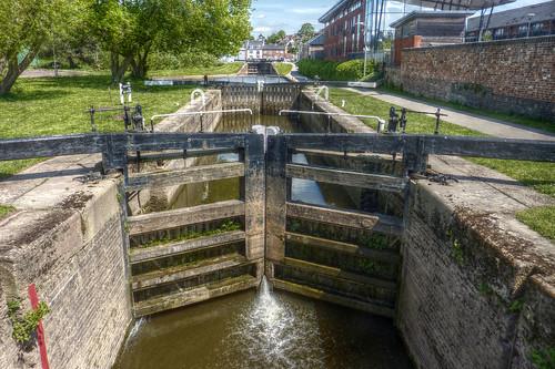 Diglis Lock Worcester