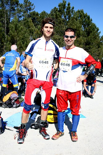 LeeVice and Me ready for the first race :D