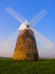 Halnaker Windmill on a clear day