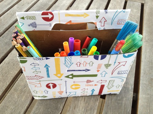 Quick Craft: Art Supply Caddy