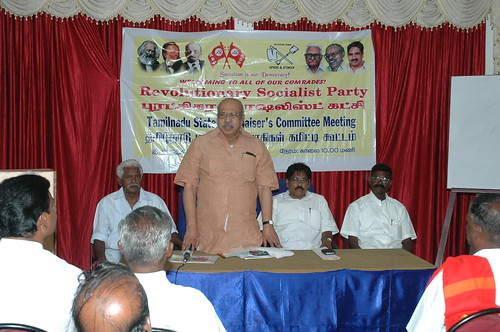 RSP All India General Secretary T.J Chandrachoodan and Tamilnadu State Convener Dr.A.Ravindranath Kennedy M.D(Acu).,attended the State Organaiser`s Committee Meeting at Madurai... 61 by Dr.A.Ravindranathkennedy M.D(Acu)