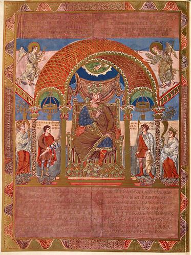 003-Carlos II El Calvo-Evangeliar  Codex Aureus - BSB Clm 14000-© Bayerische Staatsbibliothek