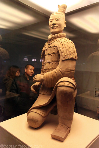 Kneeling Archer (the only warrior found whole)