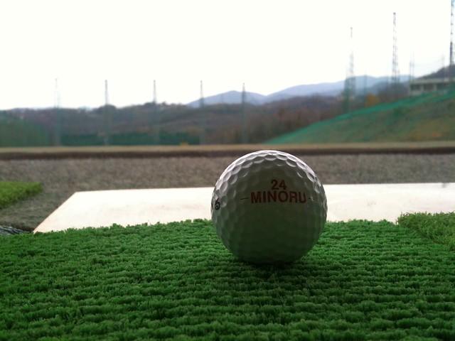 ゴルフ練習なう