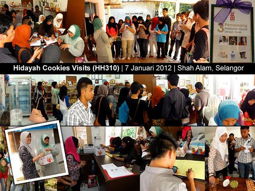 JPHPIS - Lawatan ke Hidayah Cookies 1