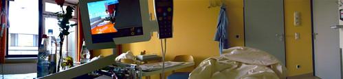 Krankenbettblick