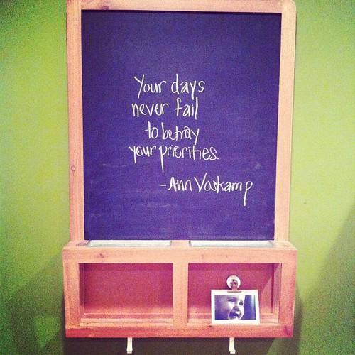 chalkboard wisdom