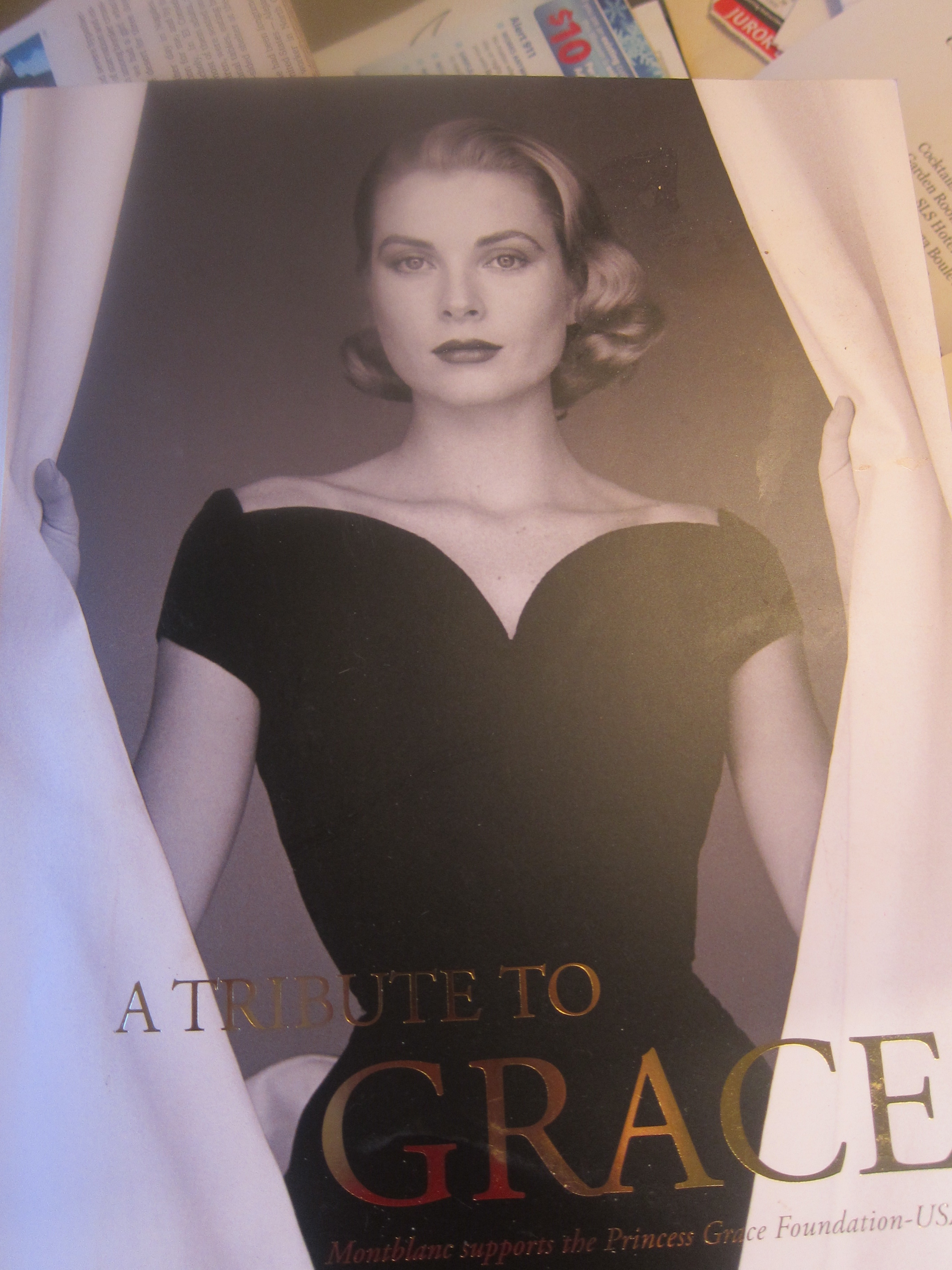 cover of Princess Grace program