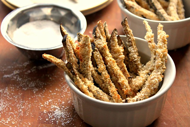 Oven Baked Eggplant Fries | Flickr - Photo Sharing!
